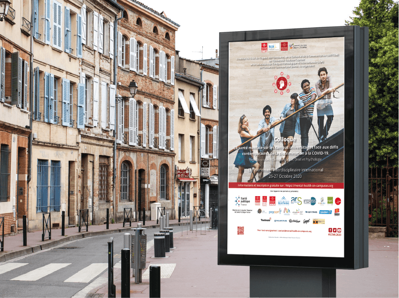 Toulouse - Pixabay street from France- Affiche du colloque SMCU2020